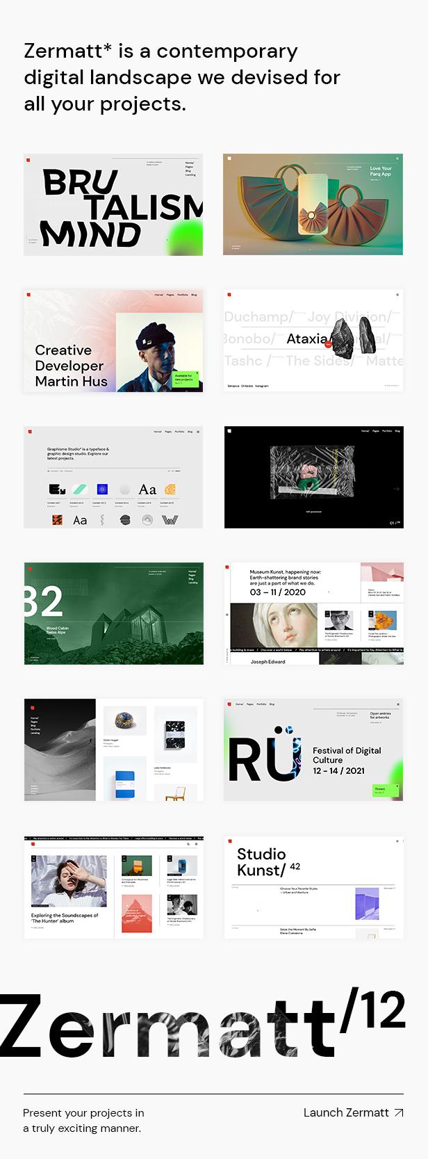 Zermatt - Multi-concept Agency Theme - 2
